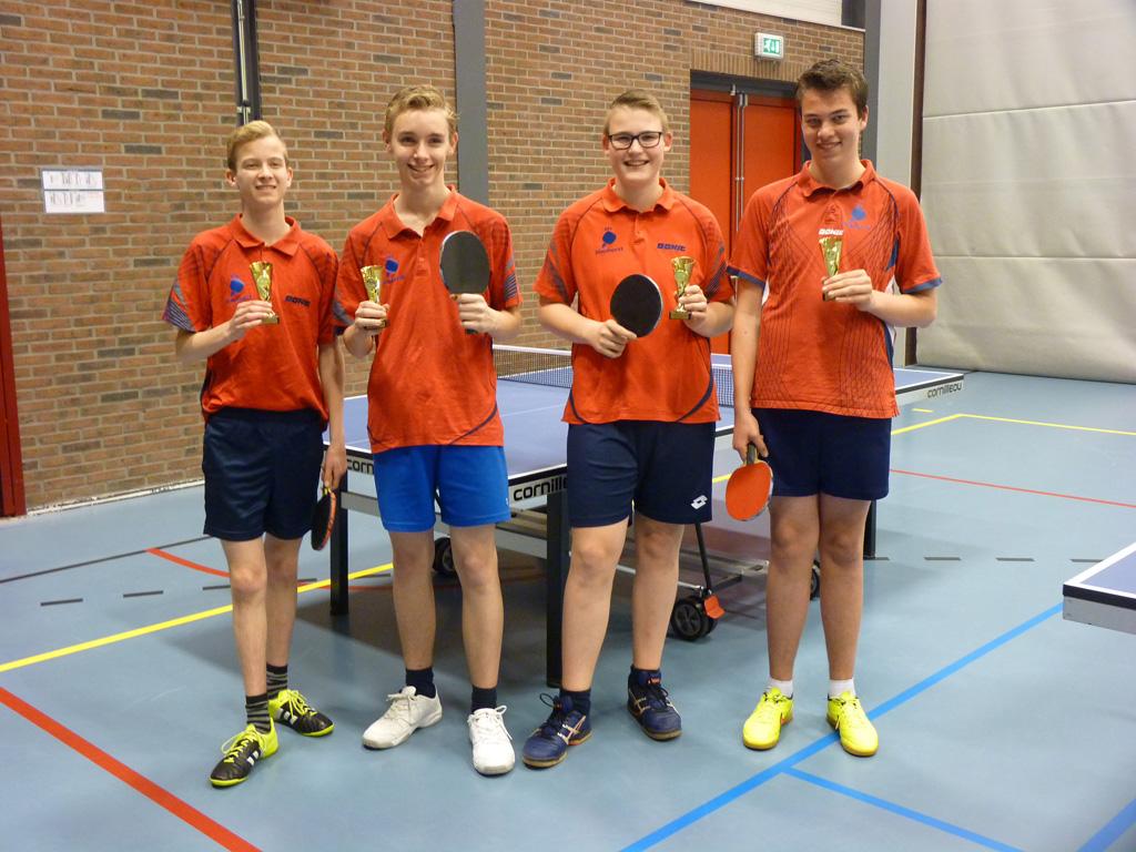 Het 1e jeugdteam 2016