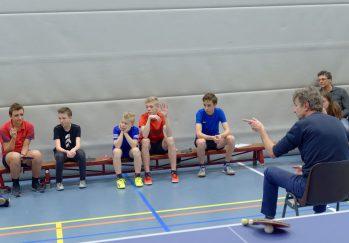 Anne Vlieg gaf workshop over weerbaarheid
